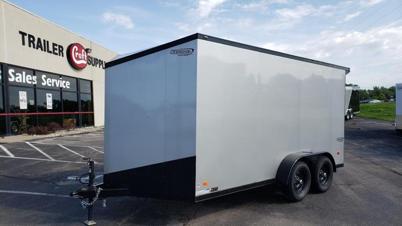 2020 Bravo 7'x14' MN Enclosed w/ Ramp Door - MIDNIGHT EDITION!