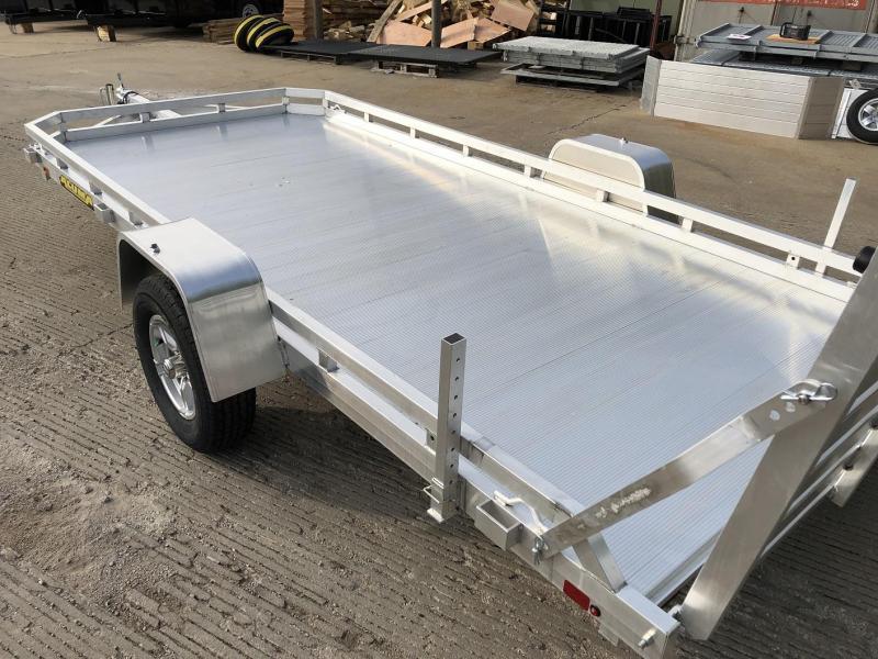 2021 Aluma 78 x14 Aluminum Utility Trailer 3 5k