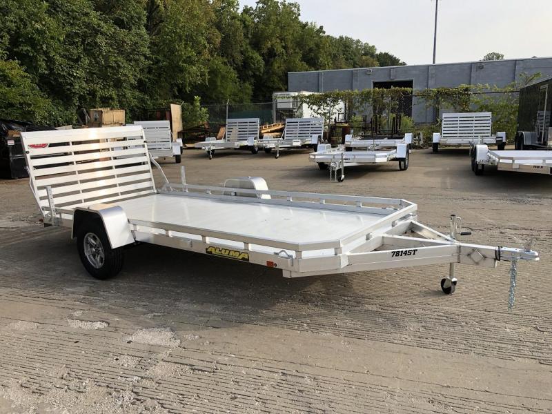 "2021 Aluma 78""x14' Aluminum Utility Trailer - 3.5k"