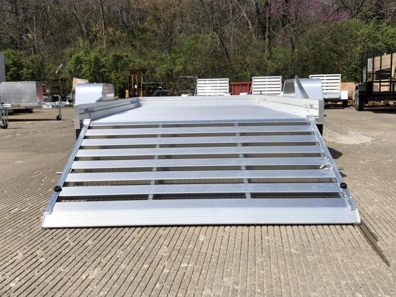 "2021 Aluma 68""x10' Aluminum Utility Trailer - 3.5K"