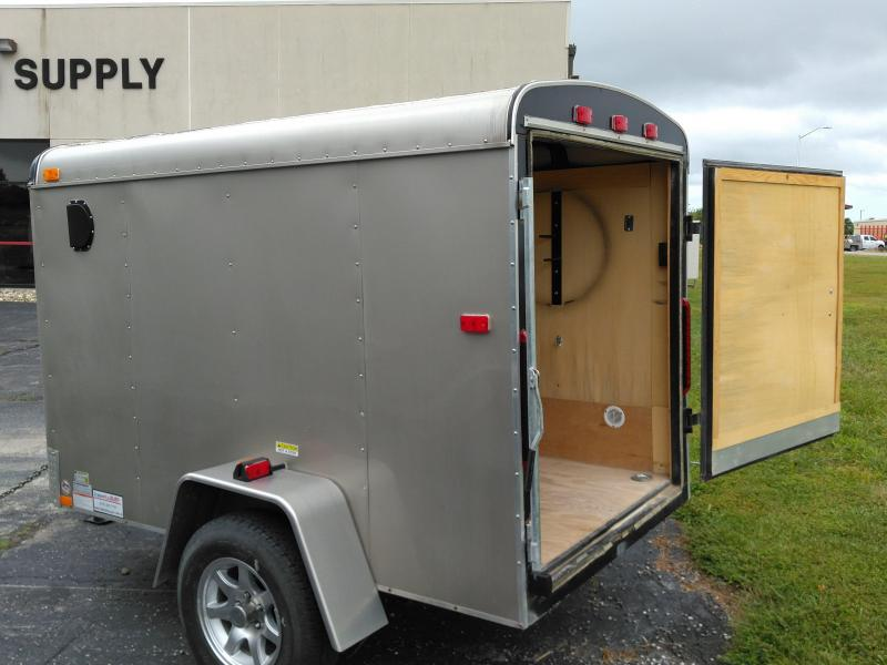 USED 2009 5 x8 Interstate Enclosed Cargo Trailer