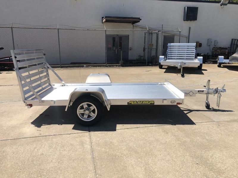 "2021 Aluma 63""x10' Aluminum Utility Trailer"