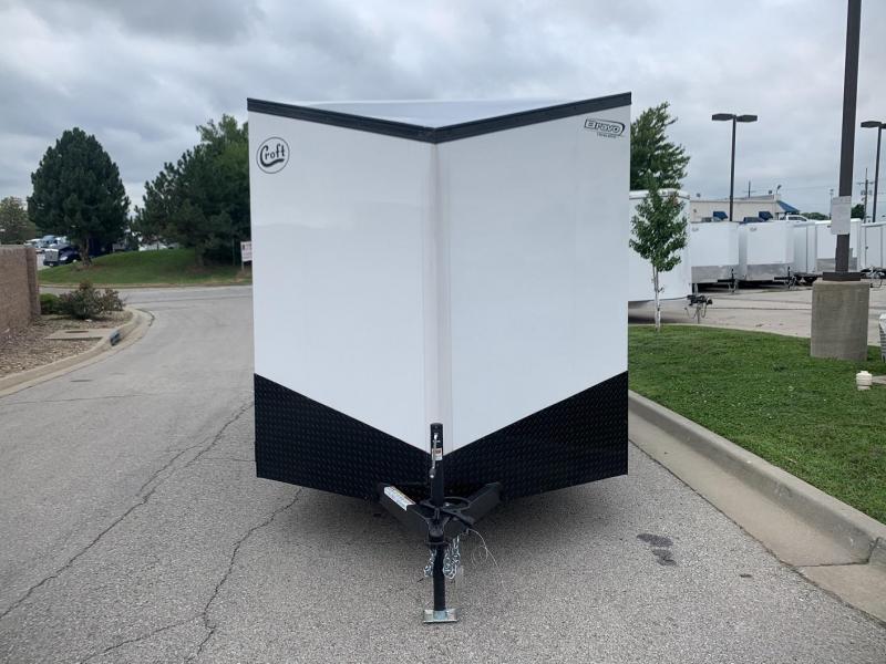 2020 Bravo 7'x16' MN Enclosed w/ Ramp Door - MIDNIGHT EDITION!
