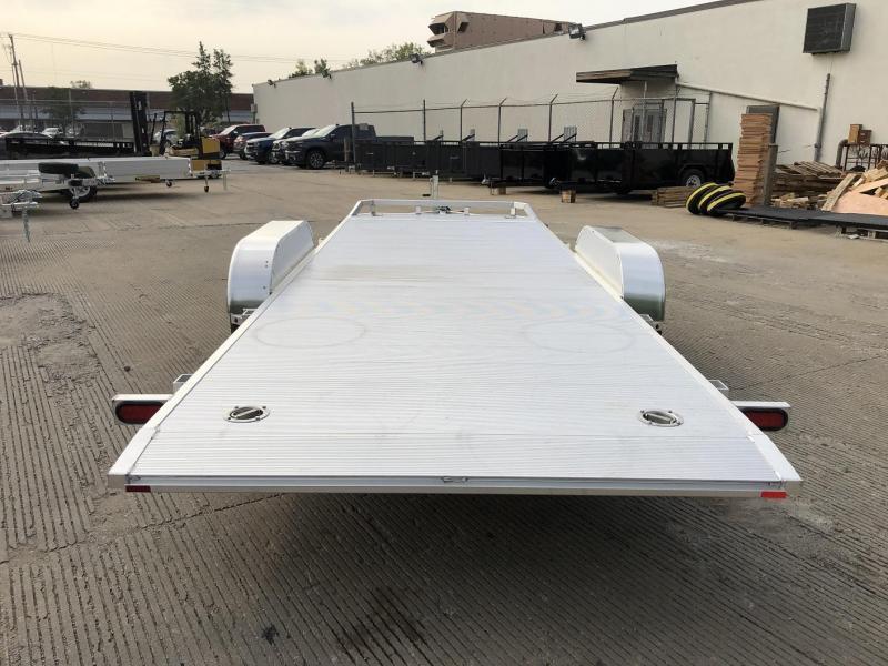 "2021 Aluma 82""x18' Tilt Bed Car Hauler - 10k"