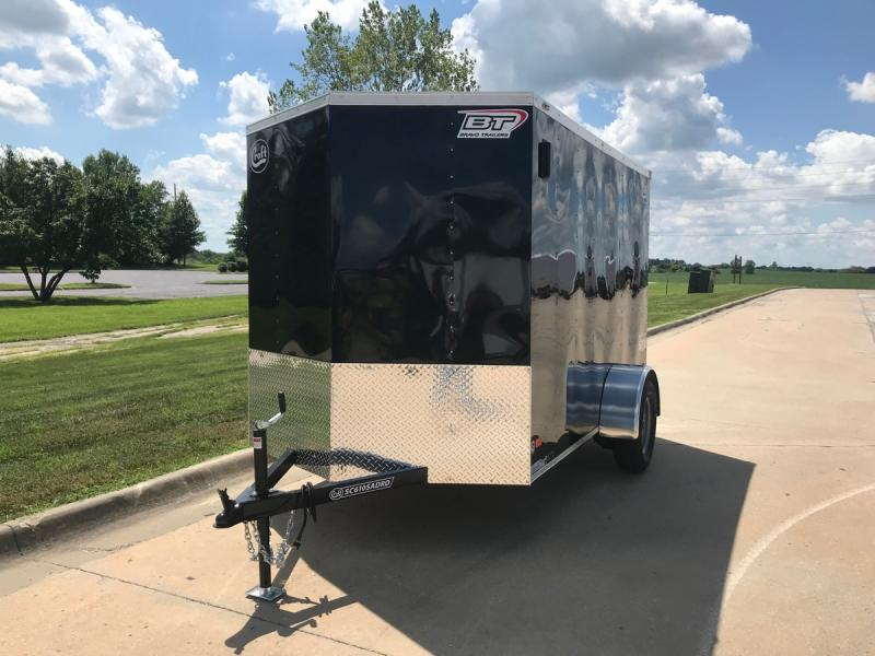 2021 Bravo 6'x10' Enclosed w/ Ramp Door