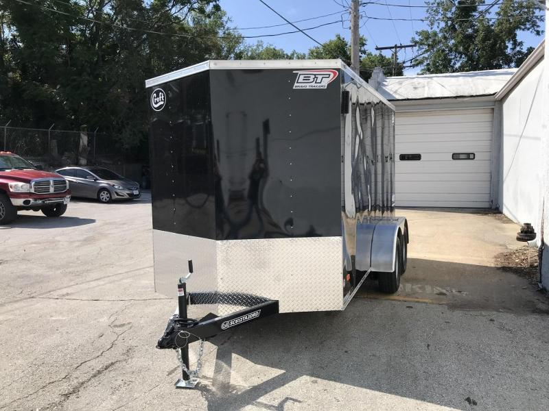 2021 Bravo 6'x12' Enclosed w/ Ramp Door