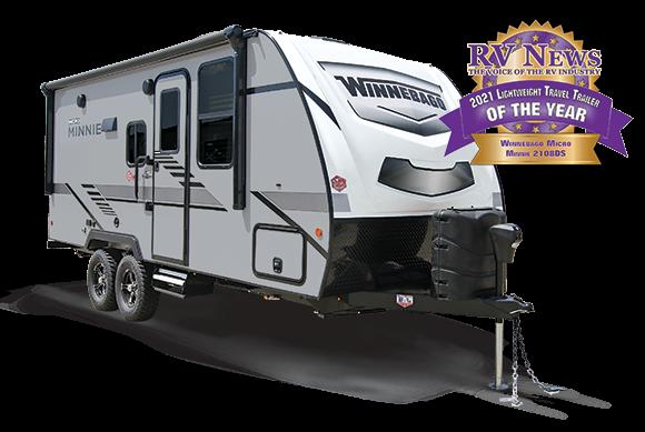 2022 Winnebago Micro Minnie 2108FBS Travel Trailer RV