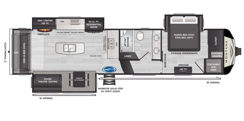 2021 Keystone RV Montana 3231CK Fifth Wheel Campers RV