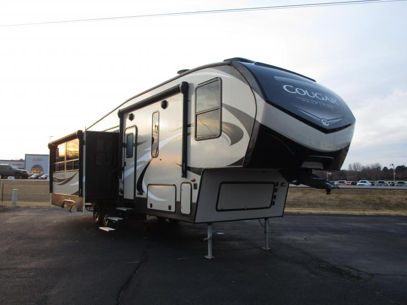 2018 Keystone RV Cougar Half-Ton 30RLS Fifth Wheel Campers RV