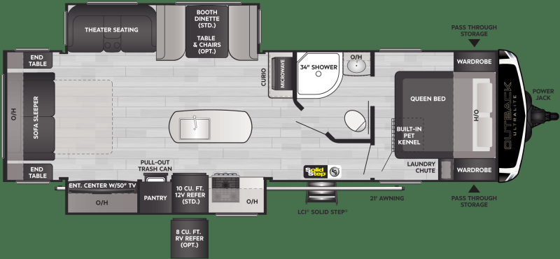 2022 Keystone RV Outback Ultra Lite 292URL Travel Trailer RV