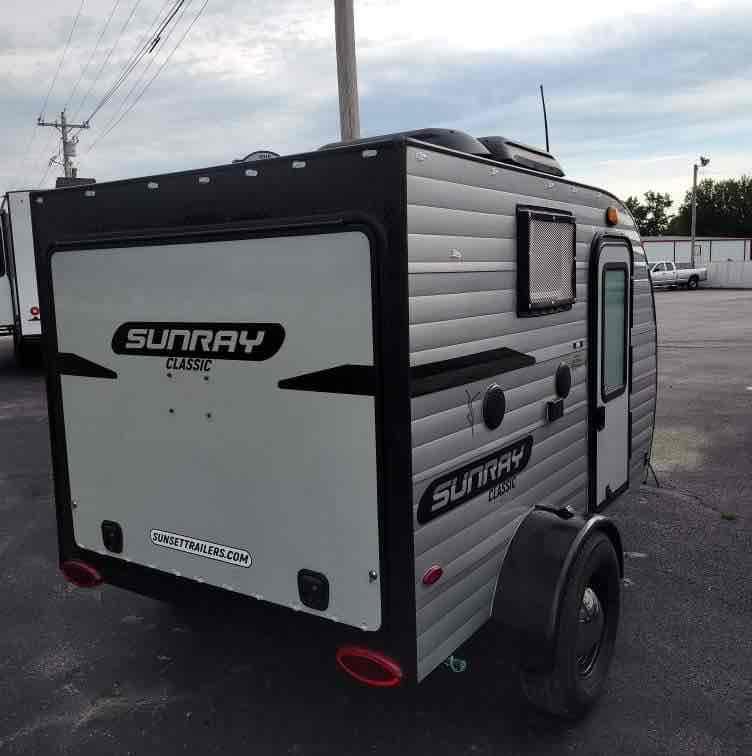 2020 SunRay RV Classic 109 Travel Trailer RV