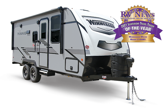 2021 Winnebago Micro Minnie 1808FBS Travel Trailer RV
