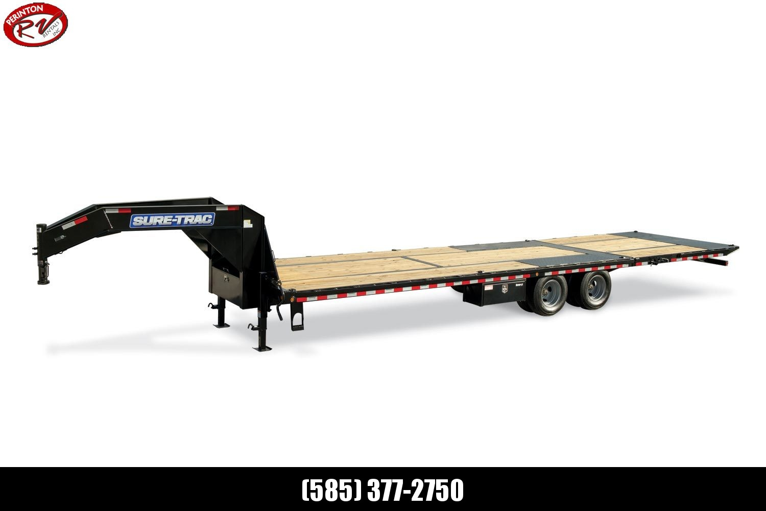2020 Sure-Trac 8.5x20+10 LowPro Hyd Deckover Tandem GN