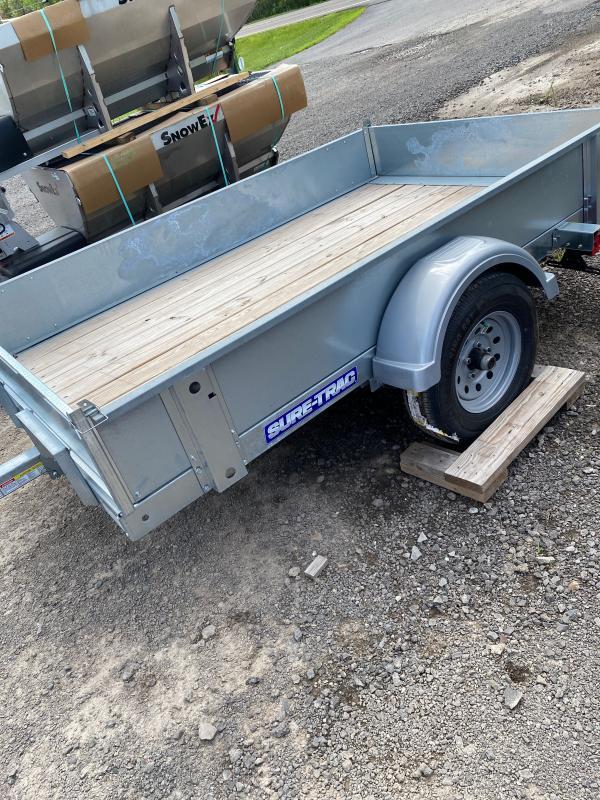 2019 Sure-Trac 5X8 GALVANIZED TILT Utility Trailer