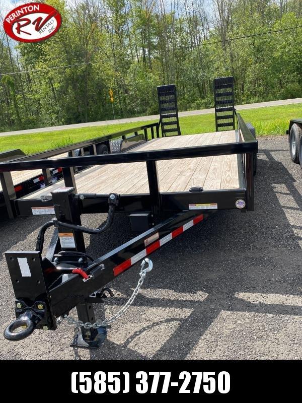2020 Sure-Trac 7 x 20 14K Heavy Duty Equipment Trailer