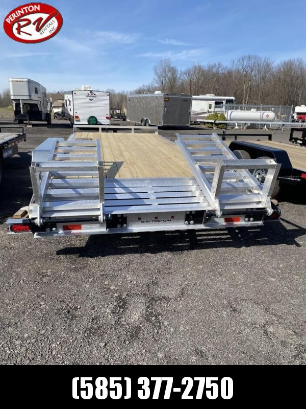 2021 Sure-Trac ST8218ET-A-140 Aluminum Implement Trailer