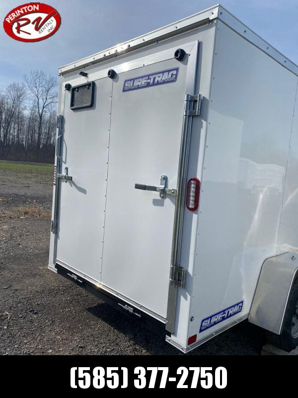 2021 Sure-Trac 6 x 10 ST Series Enclosed Wedge Cargo Tr