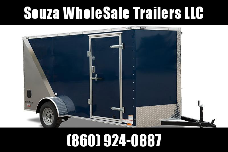 "2020 Cargo Mate EHW612SA 6x12 W/12"" EXTRA HIGHT Enclosed Carg o Trailer"