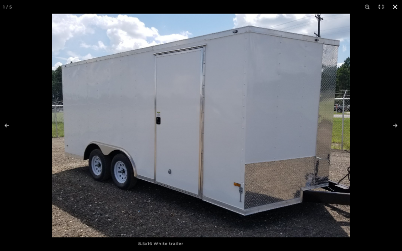 2021 ROCK SOLID CARGO USA 8.5 X 16 W/ RAMP DOOR