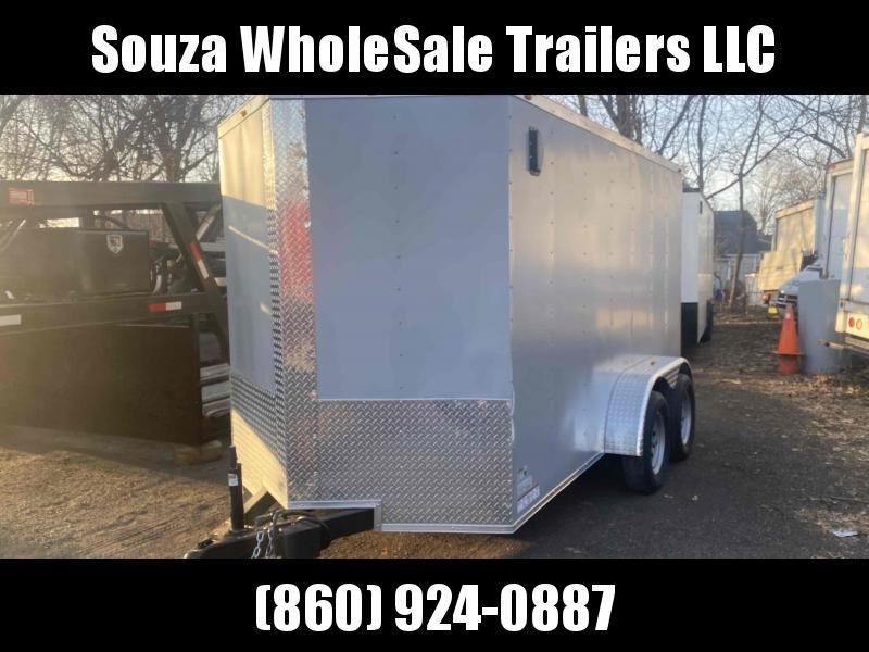 2021 J&C Trailers 6X12TA TEMDER AXLE W/REAR RAMP DOOR Enclosed Cargo Trailer