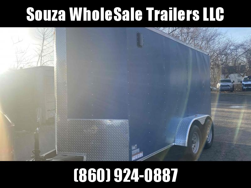 2021 J&C Trailers 6X12TA TEMDER AXLE W/REAR RAMP DOOR Enclosed Cargo Trailer