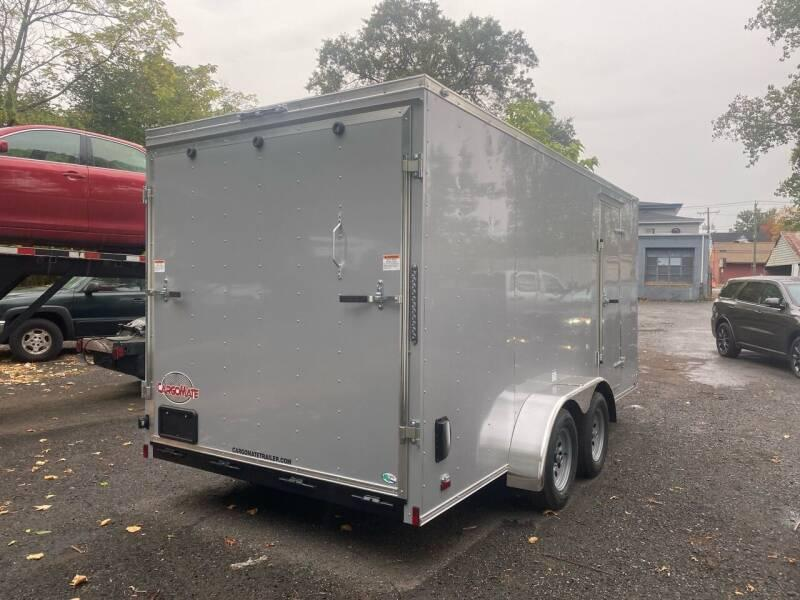 "2021 CARGO MATE 6"" EXTRA HIGHT 7 X 16 LANDSCAPE TRAILERS"