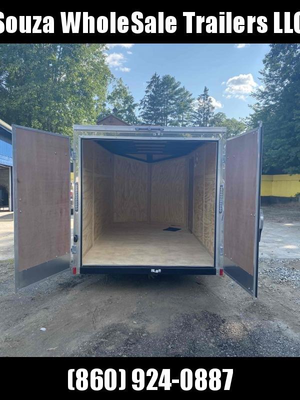 2022 Cargo Mate EHW612SA 6X12SA W/REAR BARN DOOR Enclosed Cargo Trailer