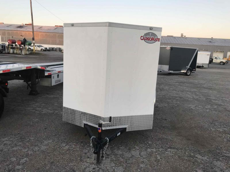 2021 Cargo Mate 6X12 BARN DOOR Enclosed Cargo Trailer