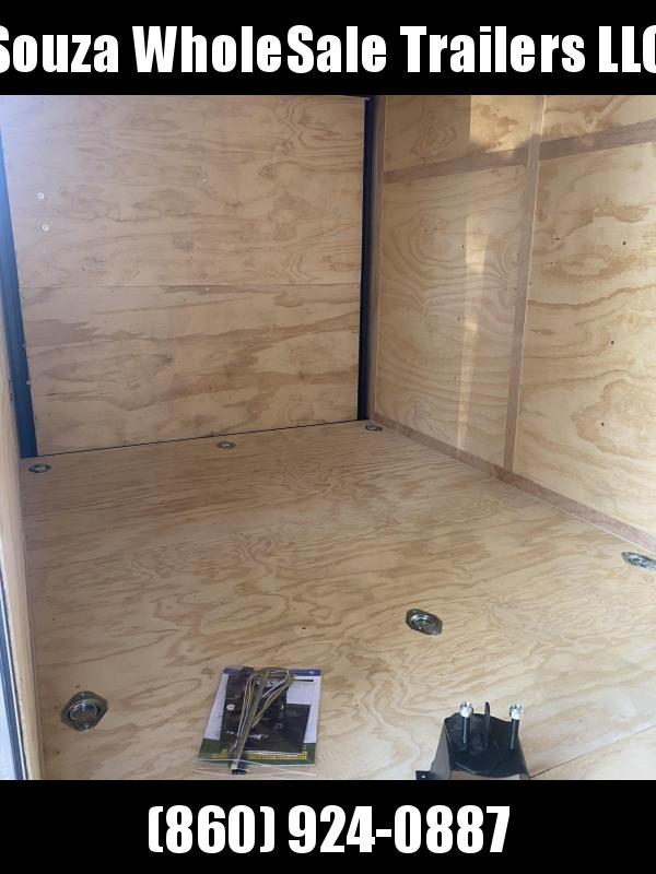 2021 Cargo Mate 6X12 W/12 EXTRA HIGHT W/RAMP DOOR Enclosed Cargo Trailer