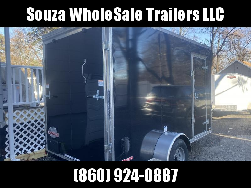 2021 Cargo Mate 6X12 W/12 EXTRA HIGHT W/RAMP DOOR Enclosed Cargo Trailer