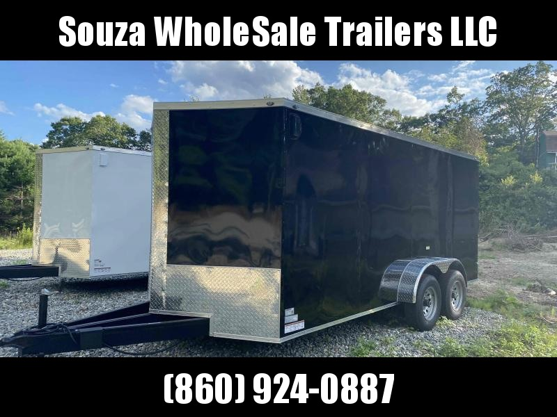 2022 J&C Trailers 7x16TA3 Enclosed Cargo Trailer