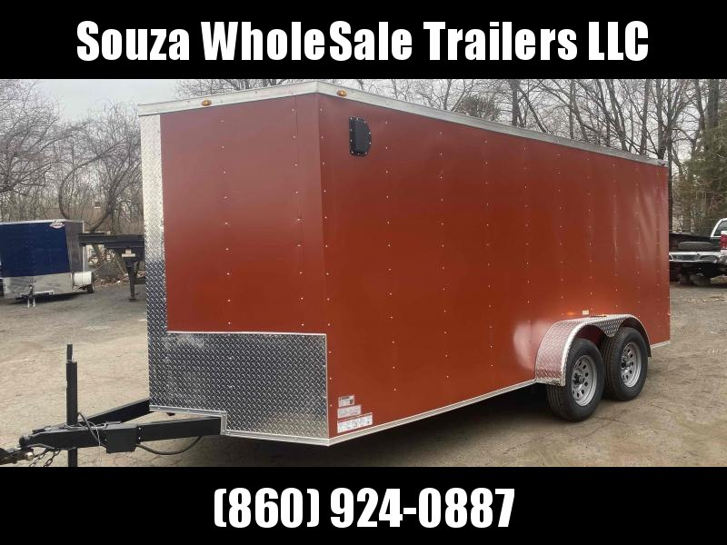 2021 J&C Trailers 7X16TA Enclosed Cargo Trailer