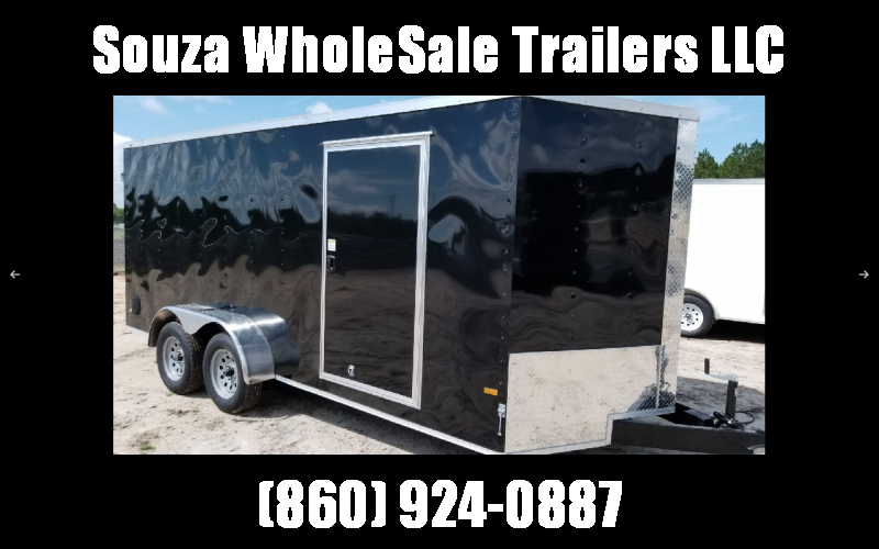 2021 Rock Solid Cargo 7 x 14 TA W/RAMP DOOR Enclosed Cargo Trailer