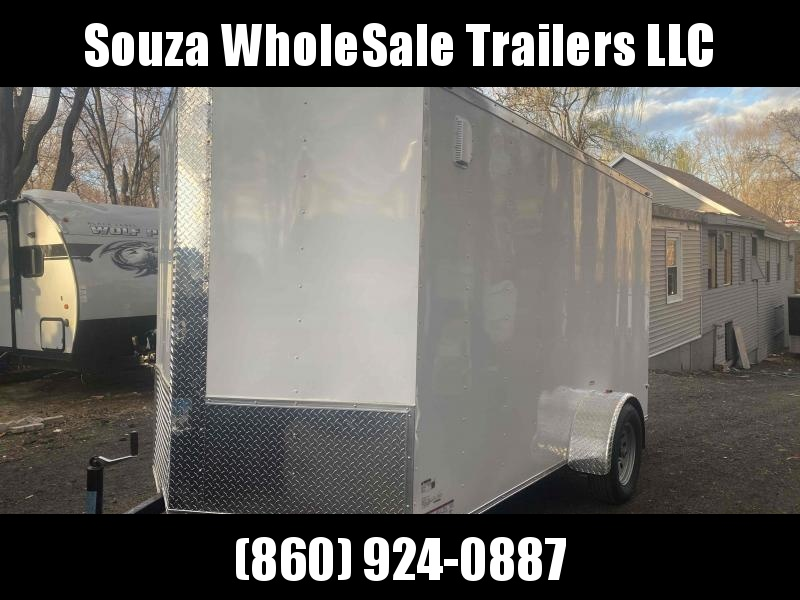 2021 J&C Trailers 6X12SA W/REAR RAMP DOOR Enclosed Cargo Trailer
