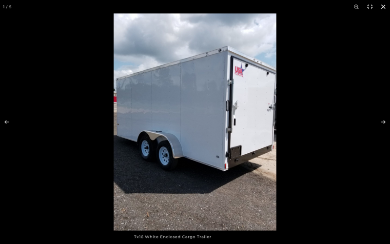 2021 Rock Solid Cargo 7X16TA W/RAMP DOOR LANDSCAPE TRAILERS Enclosed Cargo Trailer