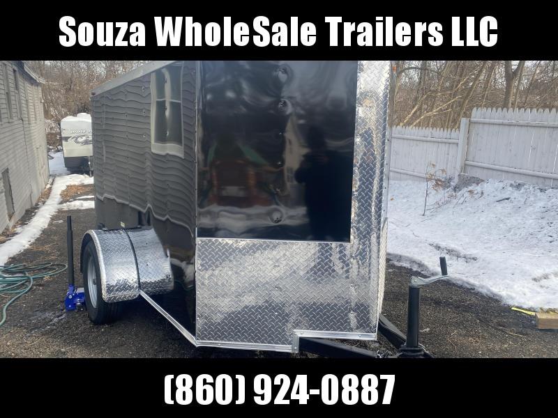 2021 J&C Trailers 5X8SA W/REAR RAMP DOOR Enclosed Cargo Trailer