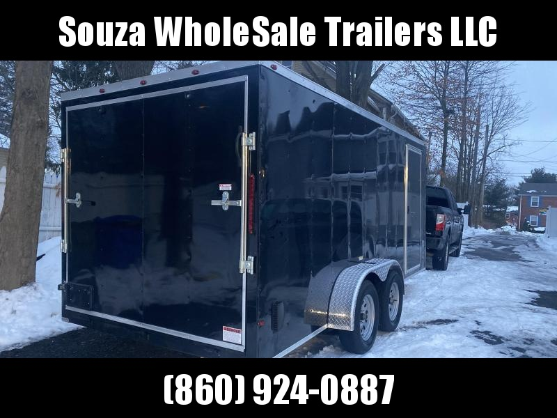 2021 J&C Trailers 7X16TA LANDSCAPE TRAILER WE FINANCE Enclosed Cargo Trailer
