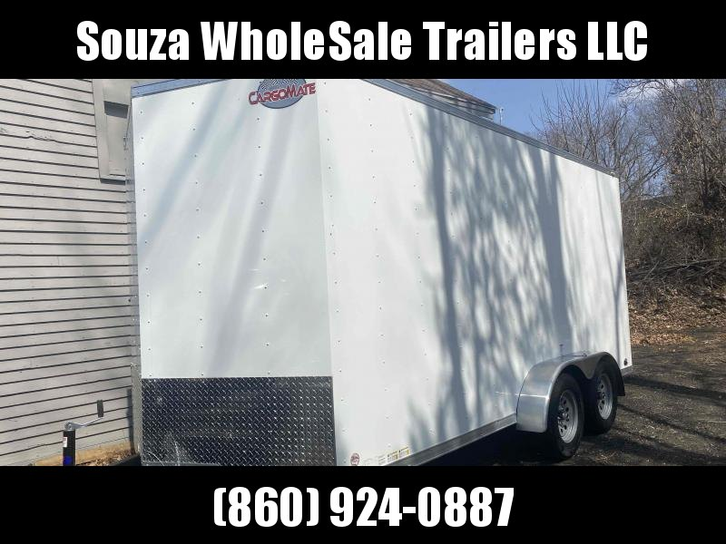 "2022 Cargo Mate SSV716TA2 7X16 W/12"" EXTRA HIGHT W/REAR RAMP DOOR Enclosed Cargo Trailer"