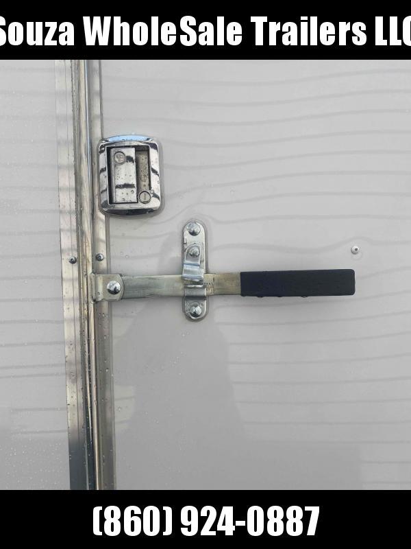 "2022 Cargo Mate SSV716TA2 7X16 W/12"" EXTRA HIGHT W/REAR RAMP DOOR Enclosed Cargo Trailer"