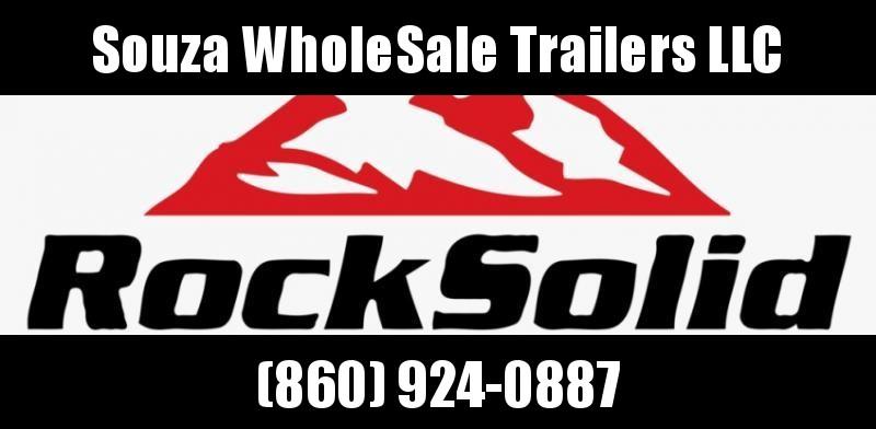 2021 Rock Solid Cargo 6 x 12 SA W/RAMP DOOR BLACK Enclosed Cargo Trailer