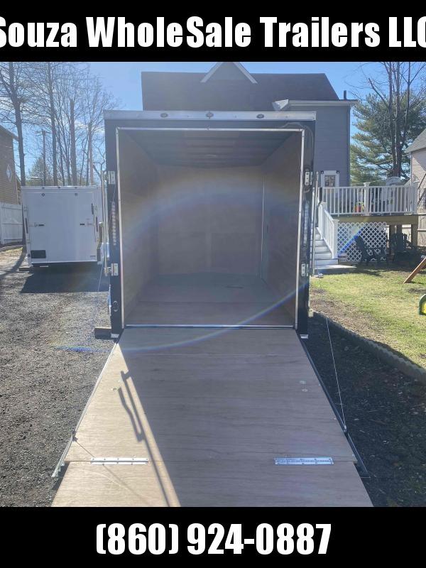 2021 J&C Trailers 6X12SA W/REAR RAMP DOOR Enclosed Cargo Trailer