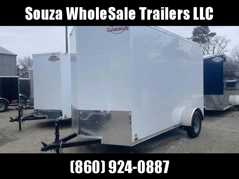 "2021 Cargo Mate SSV612SA W/12"" EXTRA HIGHT W/RAMP DOOR Enclosed Cargo Trailer"