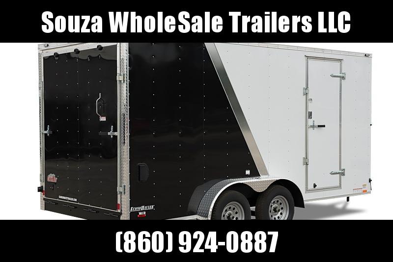 "2021 Cargo Mate 7X16 W/12 INCH EXTRA HIGHT W/RAMP DOOR 78""HIGHT Enclosed Cargo Trailer"