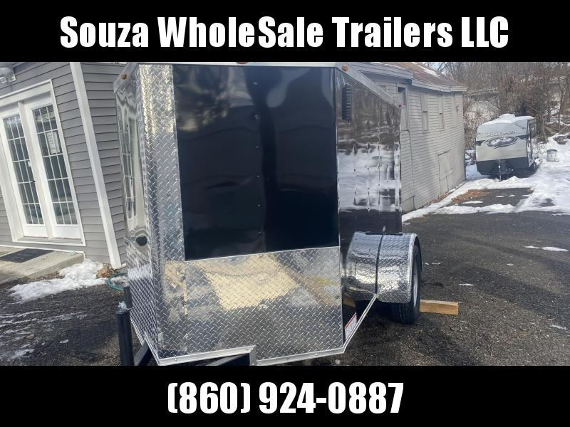 2021 J&C Trailers 5X8SA W/REAR RAMP DOOR Enclosed Cargo Trailer