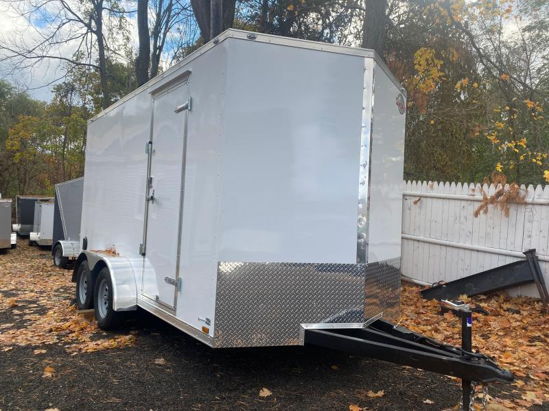 "2021 Cargo Mate EHW714TA2 7X14 W/RAMP DOOR 12"" EXTRA HIGHT Enclosed Cargo Trailer"