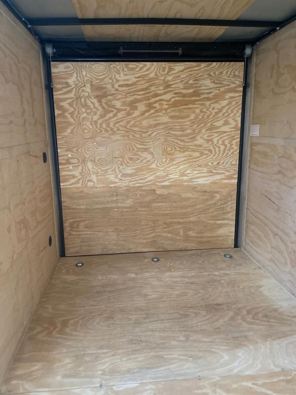 """2021 Cargo Mate EHW714TA2 7X14 W/RAMP DOOR 12"""" EXTRA HIGHT Enclosed Cargo Trailer"""