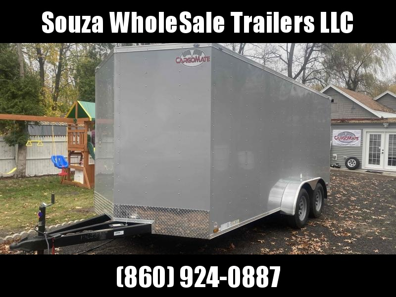 2021 Cargo Mate SSV716TA2 W/6' EXTRA HIGHT W/RAMP DOOR Enclosed Cargo Trailer