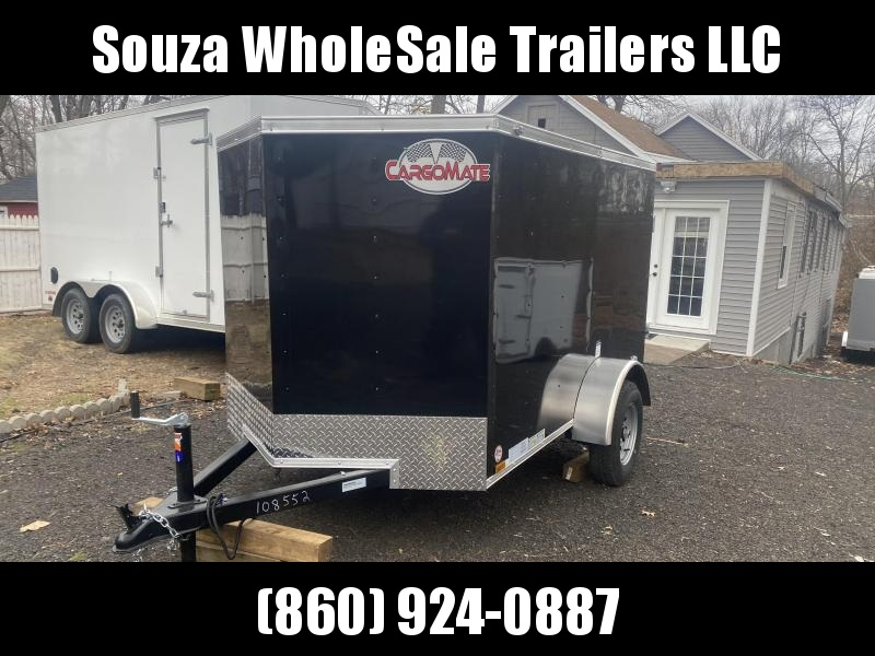 2021 Cargo Mate SSV58SA 5X8 Enclosed Cargo Trailer