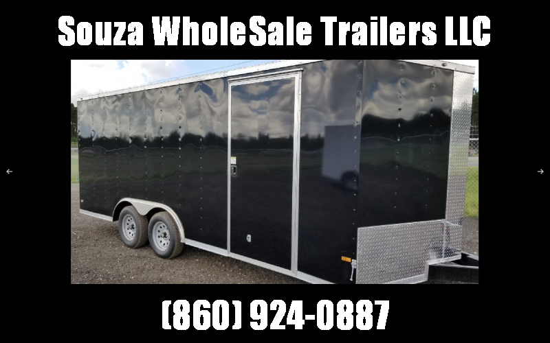 2021 Rock Solid Cargo 8.5 x 18 TA W/RAMP DOOR Enclosed Cargo Trailer