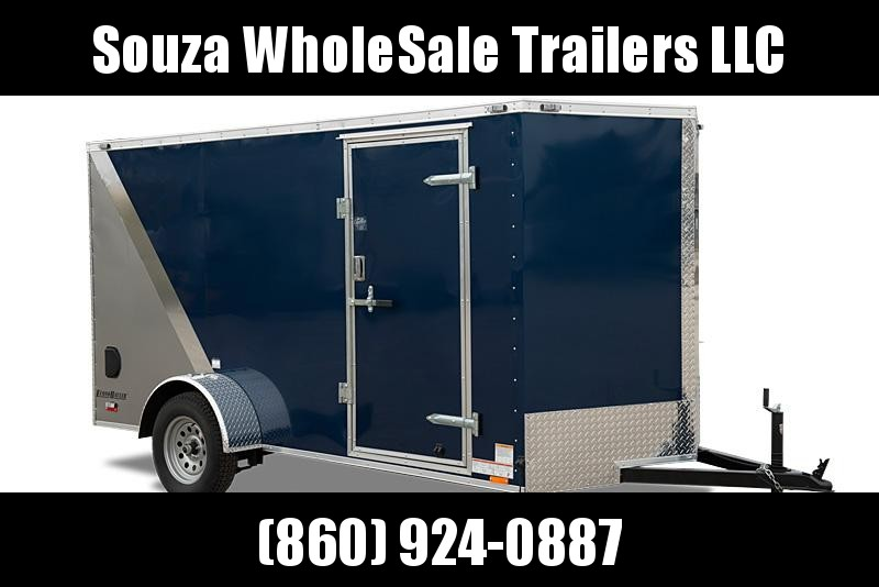 "2021 Cargo Mate 6X12SA W/12""EXTRA HIGHT W/REAR RAMP DOOR EHW612SA Enclosed Cargo Trailer"